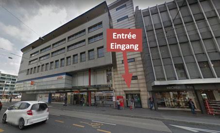 Notre salle de sport: Migros du Marché Neuf, Rue du Canal 36-38, 2502 Bienne